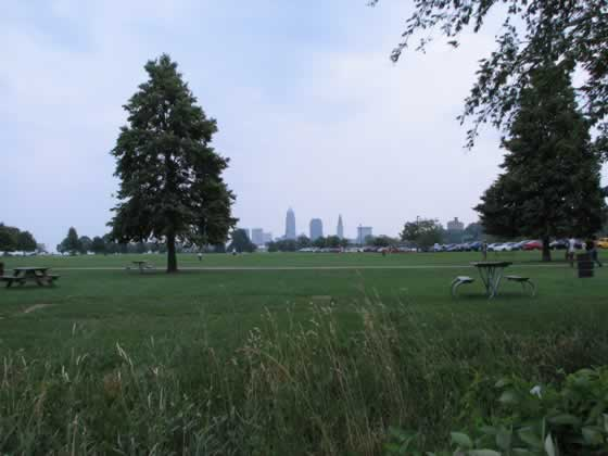 Cleveland from Edgewater