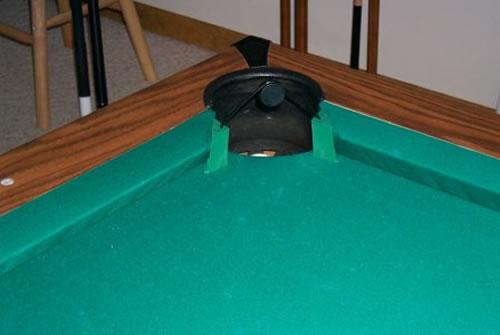 Barenadas Pool Gimcracks - Pool table pocket shims